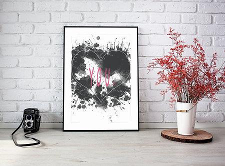 YOU - DIN A4 Print