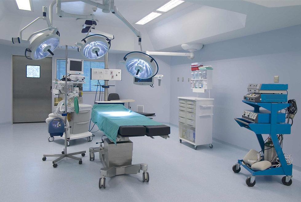 sala operacyjna zabudowna okładziną ścienną PCV