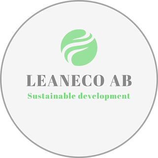 Leaneco logga logo Original on Transpare