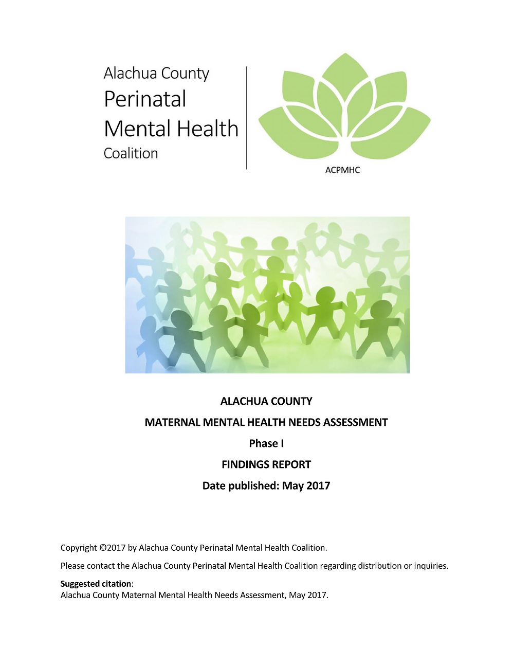 2017 MMH Findings Report Alachua County