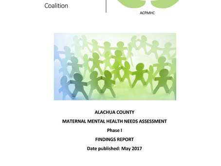Maternal Mental Health Needs Assessment Findings Report released