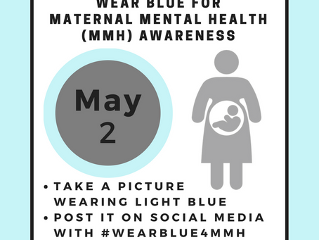 #WearBlue4MMH- Join us May 2, 2018!