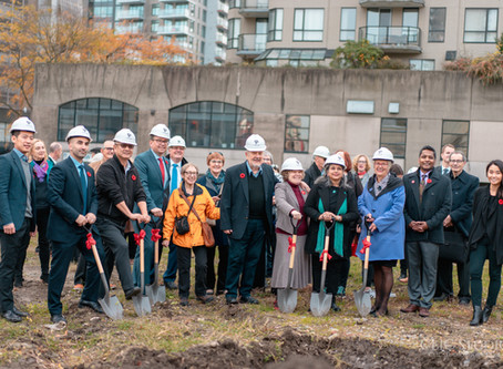 Ground Breaking Ceremony - BC Housing - PAL