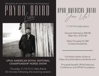 Pryor Baird Concert Flyer