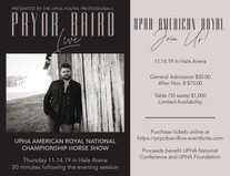 Pryor Baird Concert Flyer