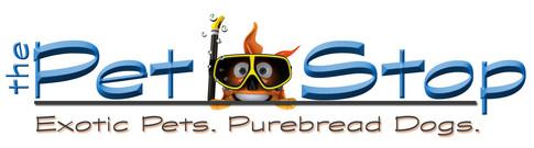 Pet shop logo created with Adobe Photoshop