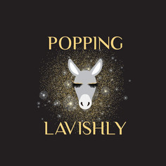 Popping Lavishly Logo Design