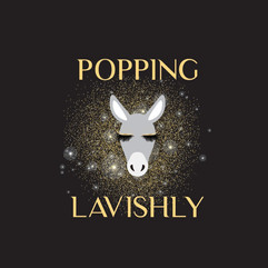 Popping Lavishly Logo Design