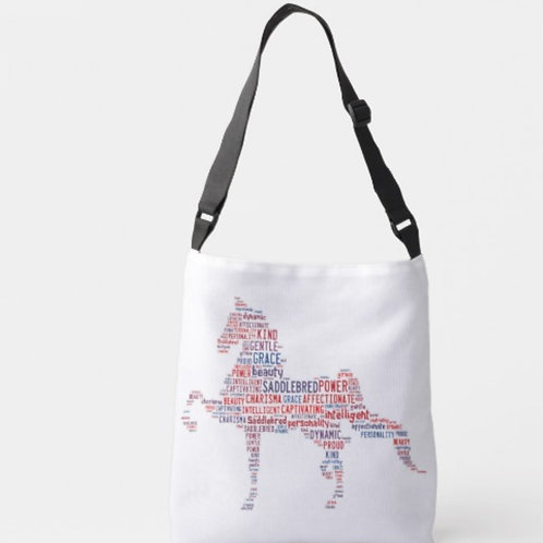 Cross Body American Saddlebred Tote Bag