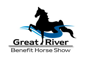 Horse show logo created with Adobe Illustrator