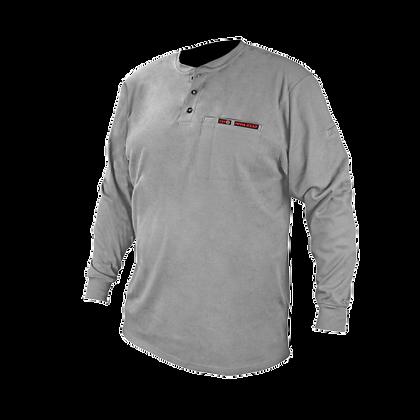Camisa Henley FR de algodón de manga larga VolCore