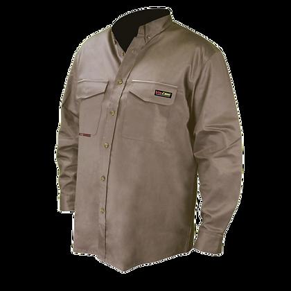 Camisa FR de manga larga con botones de VolCore