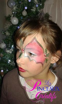 maquillage enfant noel