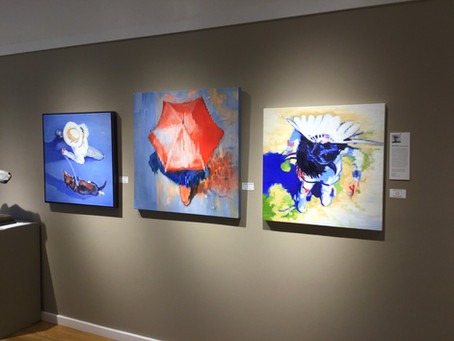 """New show,""""Once Upon A Time"""" the story of creativity, features Keating's new paintings"""