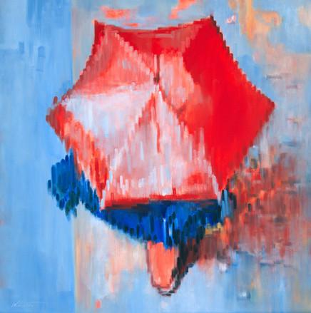 Motion of Red Umbrella