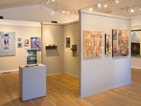 """Keating's Pixel Impressionist Paintings in New """"Coexisting Realities"""" Exhibit at ViVO Contemporary"""