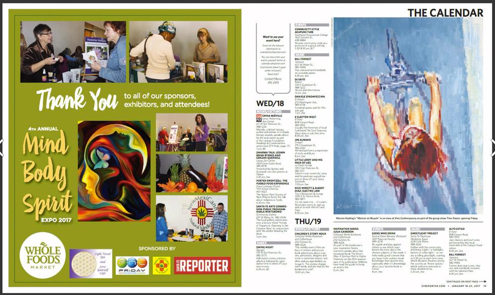 Santa Fe Reporter Calendar