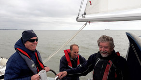 APSC Commodore goes out for an EAST Taster Sail!!