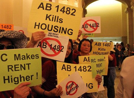 Nationally Watched Rent Control Bill Passes First Test in California Senate