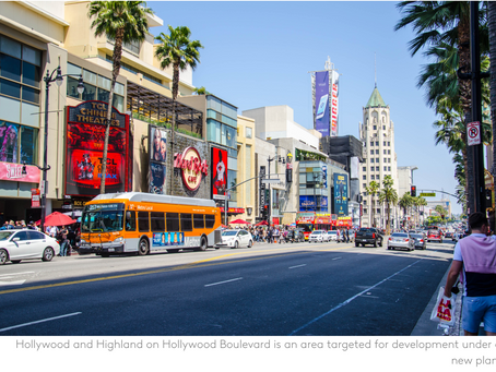 Hollywood Development Plan Focuses on Subways to Cut Traffic