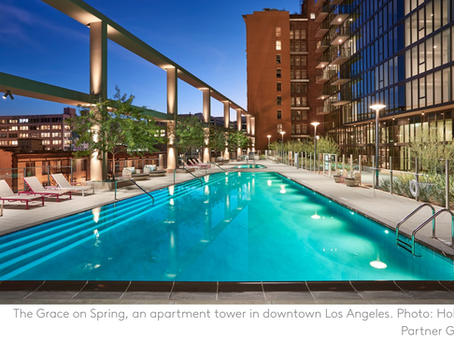 Apartment Development Boom Spreads Into New Areas in Downtown Los Angeles