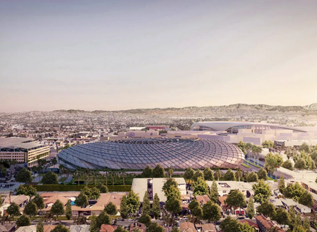 Renderings revealed for $1B Clippers arena in Inglewood