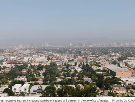 LA Rent Control Increases will climb to 4% in 2019