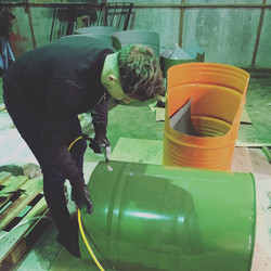 bespoke oil drums furniture