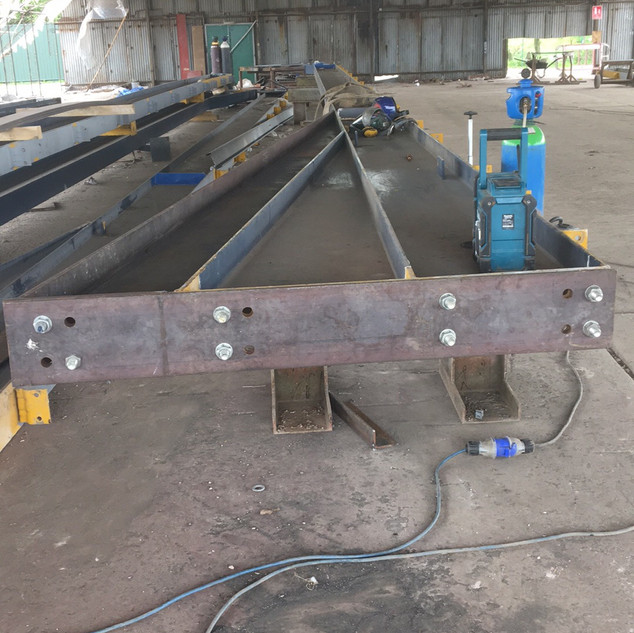 steel beam welding