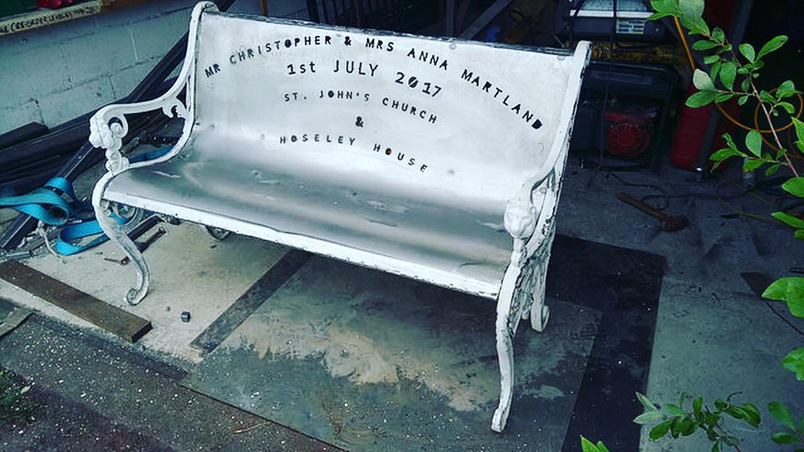 Bespoke garden chair