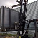 Lorry trailer-board