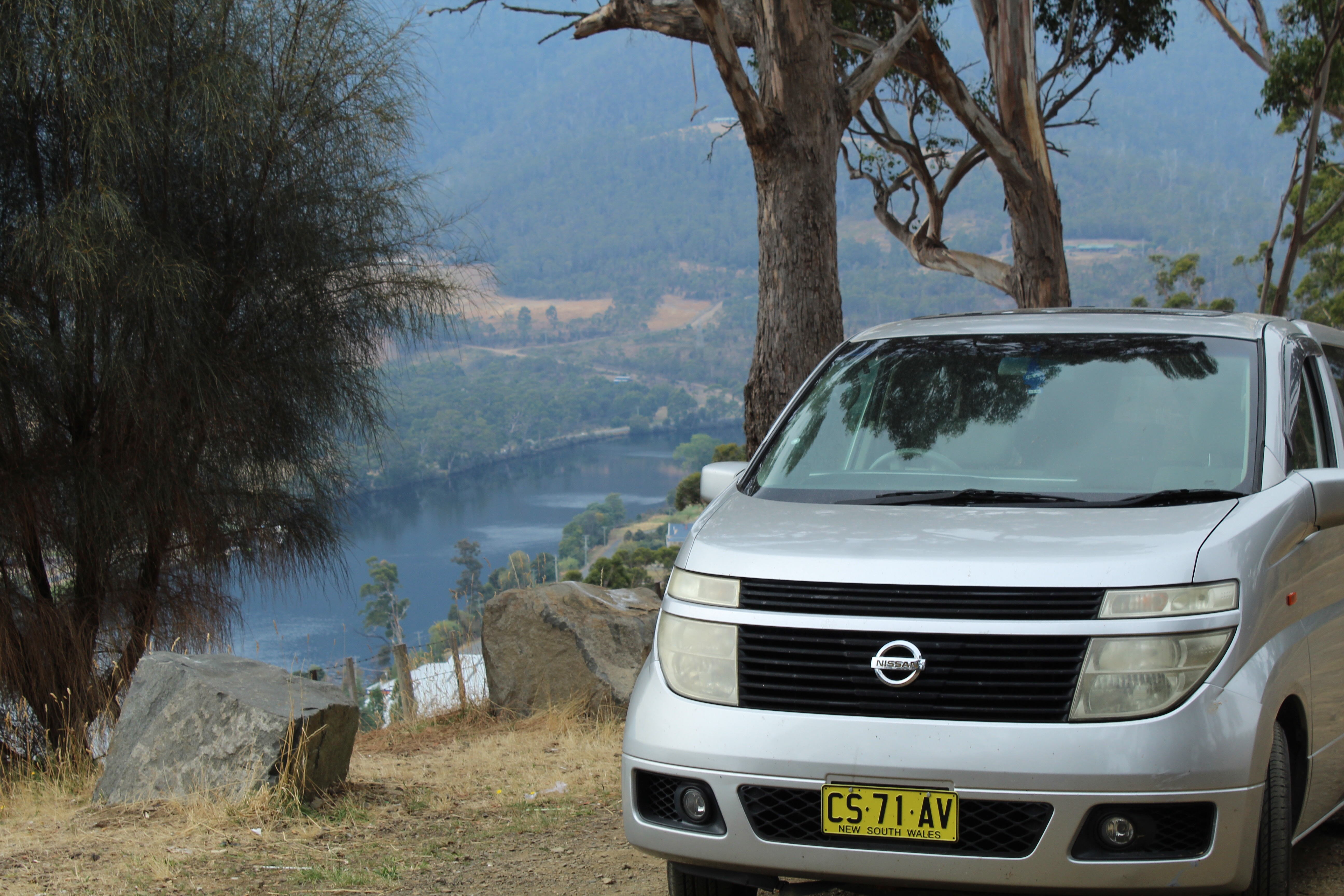 Luxury Vehicle by the Huon River