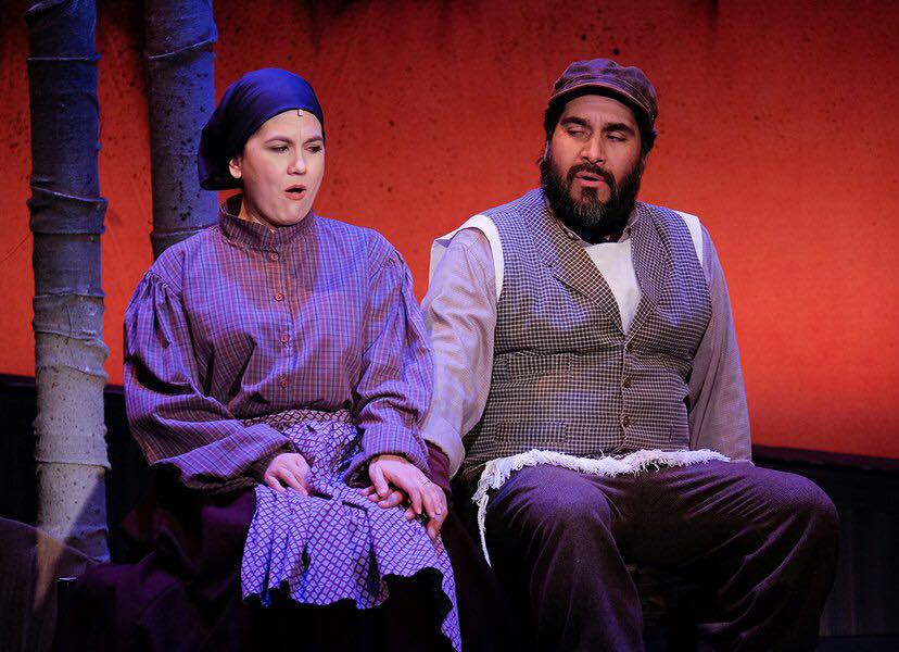 Golde in FIDDLER ON THE ROOF