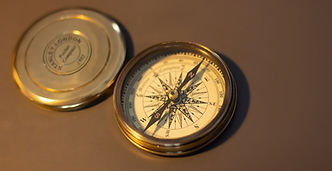 kompass mit richtungsanzeige