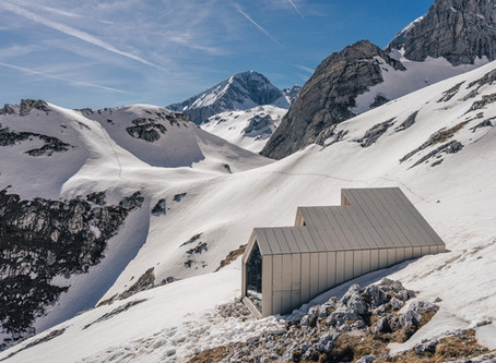 Hory a architektura: Bivak pod Skuto | Skuta mountain shelter