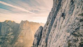 Monte Agner: Nordkante (VI+, 1900 m)