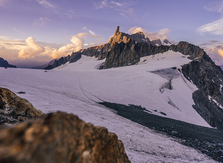 Aiguille du Rochefort (4001 m / III AD) | Mont Blanc massif