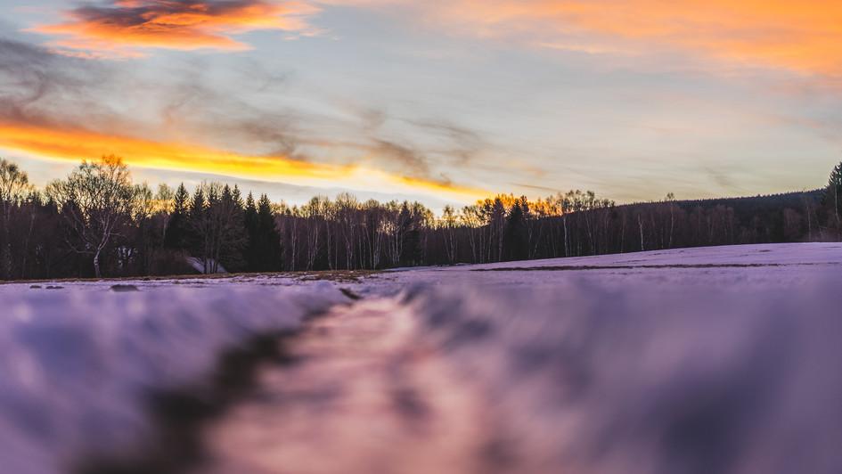 Šumava sunrise