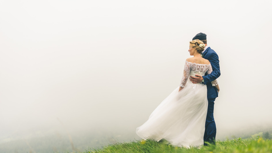 Wedding in mountains