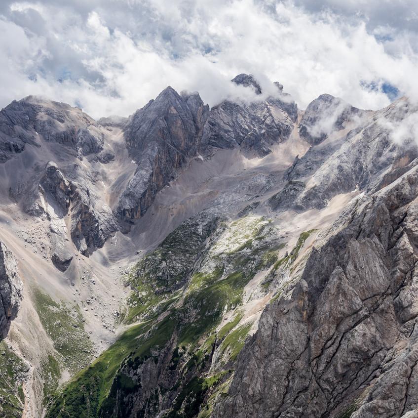 Výhled do Valle Ombretta.