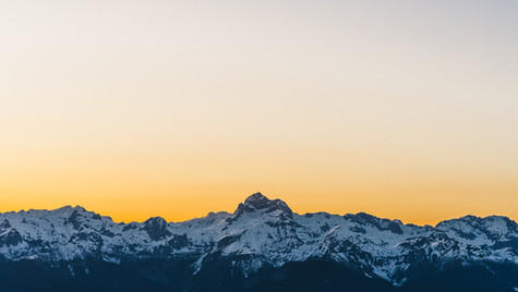 Triglav Sunset