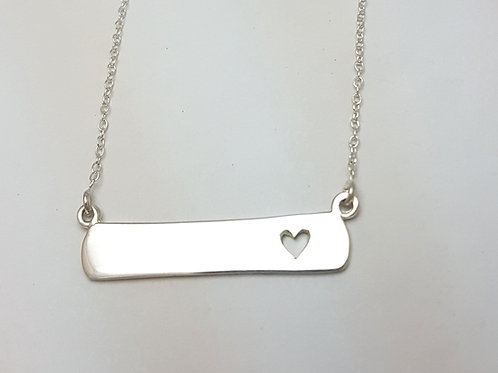 PE205 Silver pendant