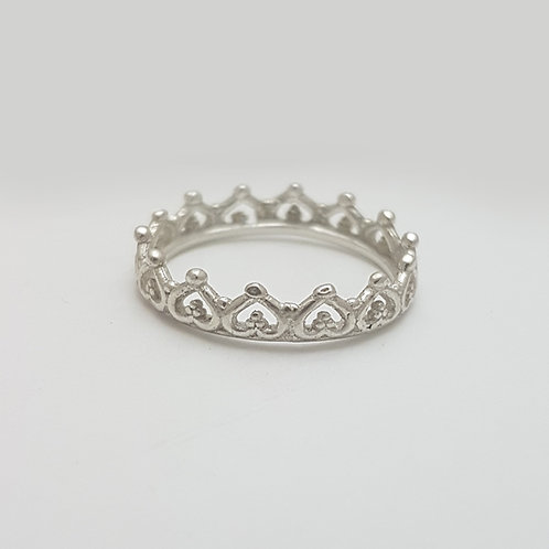 S008- Silver Ring