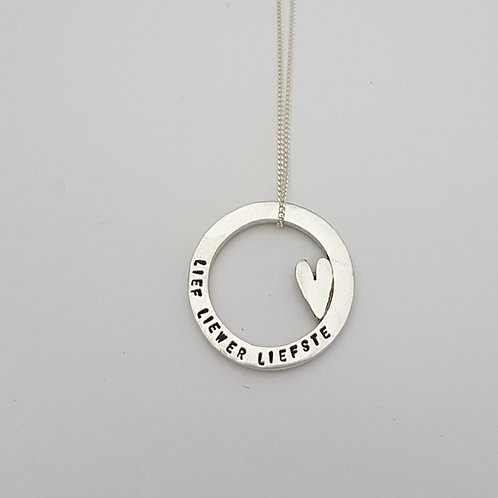 P015 - Circle Pendant