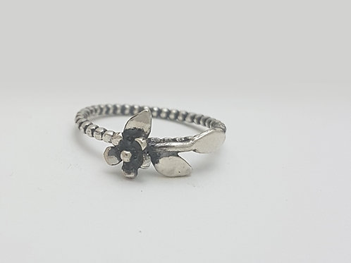 S012- Silver Ring