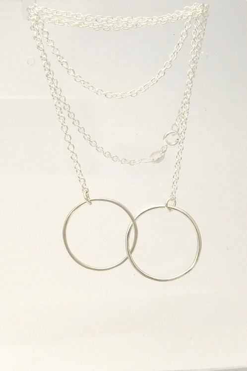 P102 Wire Circles pendant
