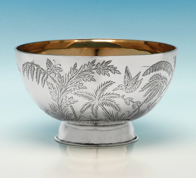 Victorian Sterling Silver Bowl