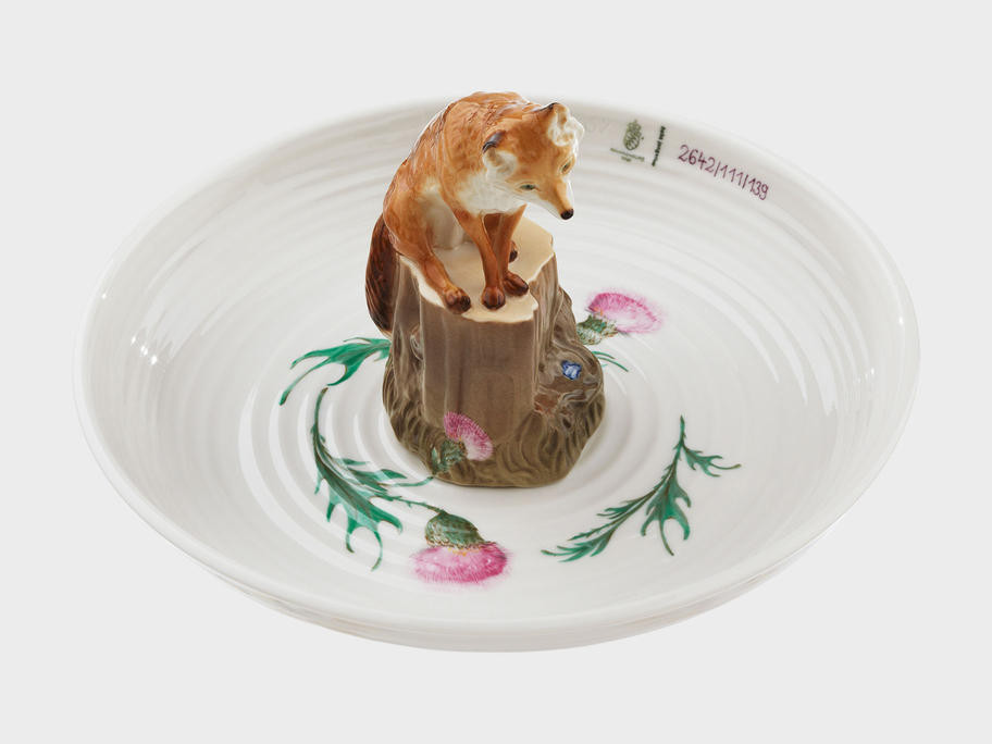 Bowl with fox