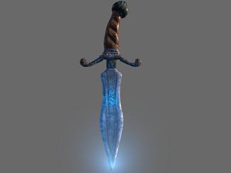 Fantasy Dagger Created using Maya, zbrush and Substance Painter