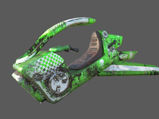 Post Apocalyptic HoverBike racer. Created Using Maya, Zbrush and Substance Painter